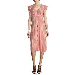 a.n.a Short Sleeve Blouson Dress | JCPenney