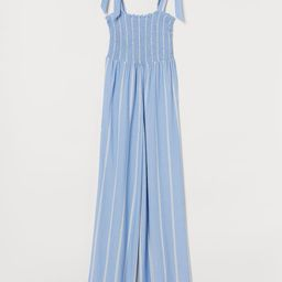 Jumpsuit with Smocking | H&M (US)