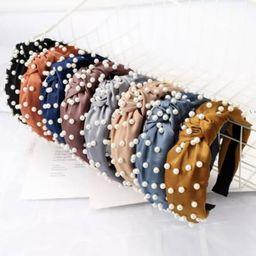 Pearl Knot Headband | Etsy ROW