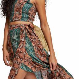 Tropical Date Crop Top & Wrap SkirtFREE PEOPLE | Nordstrom