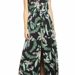 Floral V-Neck Maxi DressA LA PLAGE | Nordstrom