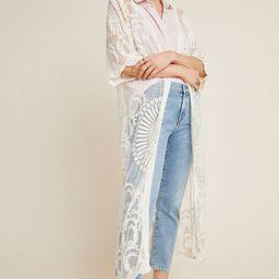 Angelica Lace Duster Kimono   Anthropologie (US)