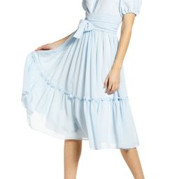Gingham Puff Sleeve Dress | Nordstrom