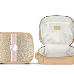 Cosmetic Kit - Monogram Stripe | Barrington Gifts
