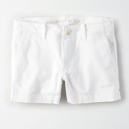 Online Only       AE Khaki Midi Short   American Eagle Outfitters (US & CA)