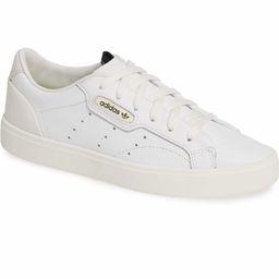 Sleek Leather Sneaker   Nordstrom