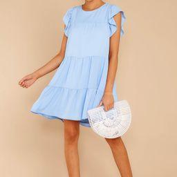 Always Sweet Vista Blue Dress | Red Dress