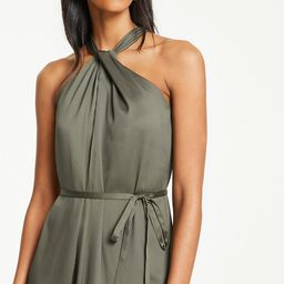 Knotted Halter Maxi Dress   Ann Taylor (US)