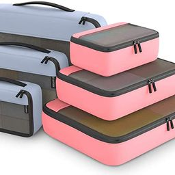 Packing Cubes Organizer Bags For Travel Accessories Packing Cube Compression 6 Set For Luggage Su...   Amazon (US)