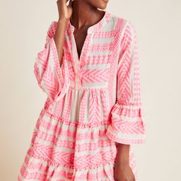Petra Tiered Tunic Dress | Anthropologie (US)