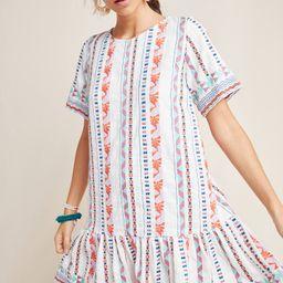 Tildie Embroidered Tunic Dress | Anthropologie (US)