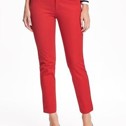 Mid-Rise Pixie Ankle Pants for Women   Old Navy US