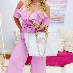 Monogram Coco Tweed Handbag | I Love Jewelry