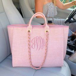 Monogram Gabby Tweed Handbag | I Love Jewelry