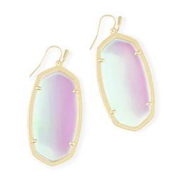 Danielle Gold Drop Earrings in Dichroic Glass | Kendra Scott | Kendra Scott