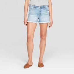 Women's High-Rise Jean Shorts - Universal Thread™ Light Wash | Target