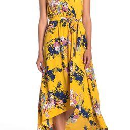 WEST KEI   Floral Print High/Low Dress   Nordstrom Rack   Nordstrom Rack