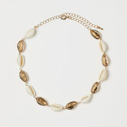 Necklace with Shells | H&M (US)