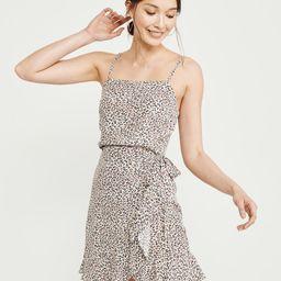 Tie-Waist Mini Dress | Abercrombie & Fitch US & UK