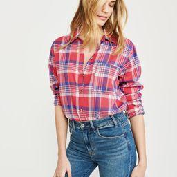 Boyfriend Shirt | Abercrombie & Fitch US & UK