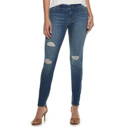 Women's Juicy Couture Flaunt It Seamless Midrise Skinny Jeans   Kohl's
