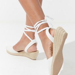 UO June Mini Espadrille Wedge | Urban Outfitters (US and RoW)