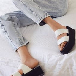 UO Ava Neoprene Platform Sandal | Urban Outfitters (US and RoW)