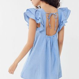 UO La Petite Tie-Back Babydoll Dress   Urban Outfitters (US and RoW)