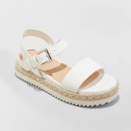 Women's Rianne Espadrille Ankle Strap Sandals - A New Day™   Target
