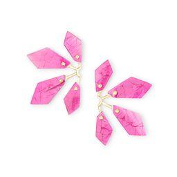 Malika Rose Gold Statement Earrings in Abalone Shell | Kendra Scott | Kendra Scott