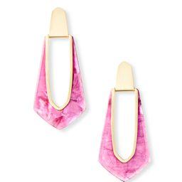 Kiernan Gold Hoop Earrings in Azalea Illusion | Kendra Scott | Kendra Scott