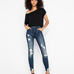 express one eleven off the shoulder london tee   Express