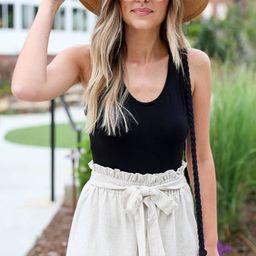 Grace Paperbag Waist Shorts | Dress Up