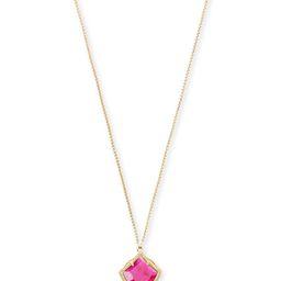Kacey Gold Long Pendant Necklace in Azalea Illusion   Kendra Scott   Kendra Scott