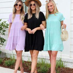 Mariana Tiered Mini Dress | Dress Up
