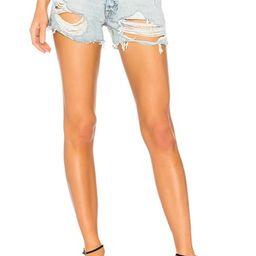 Helena High-Rise Straight Leg Cut Off Short                                          GRLFRND | Revolve Clothing (Global)