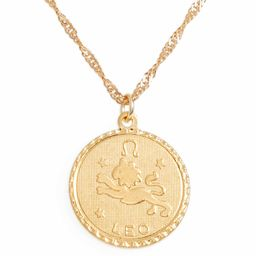 Jewelry Ascending Zodiac Medallion Necklace | Nordstrom