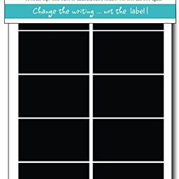 """Simply Remarkable Reusable Chalk Labels - 24 Rectangle 2.5"""" x 1.25"""" Adhesive Chalkboard StickersW...   Amazon (US)"""