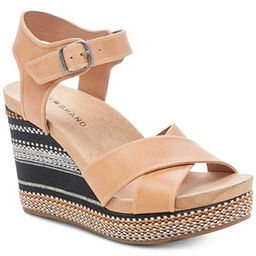 Lucky Brand Women's Yarosan Wedge Sandals & Reviews - Sandals & Flip Flops - Shoes - Macy's | Macys (US)