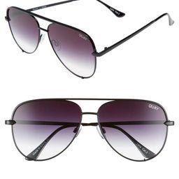 x Desi Perkins High Key 62mm Aviator Sunglasses   Nordstrom