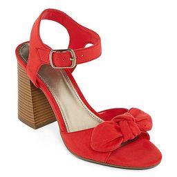 Worthington Womens Bracken Heeled Sandals | JCPenney