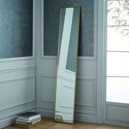 Metal Framed Narrow Floor Mirror   West Elm (US)