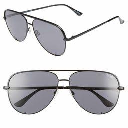 x Desi Perkins High Key 62mm Aviator Sunglasses | Nordstrom