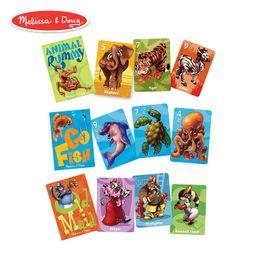 Melissa & Doug Classic Card Games Set - Old Maid, Go Fish, Rummy   Amazon (US)