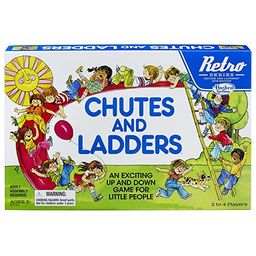 Chutes and Ladders Game: Retro Series 1978 Edition   Amazon (US)