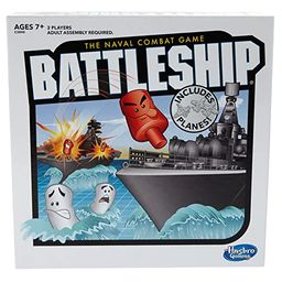 Battleship With Planes Strategy Board Game For Ages 7 and Up (Amazon Exclusive)   Amazon (US)