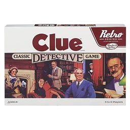 Retro Series Clue 1986 Edition Game   Amazon (US)