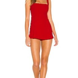 Kimmy Button Front Romper                                          superdown   Revolve Clothing (Global)