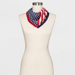 Women's Collection XIIX Americana Stars and Stripes Bandana - Red | Target