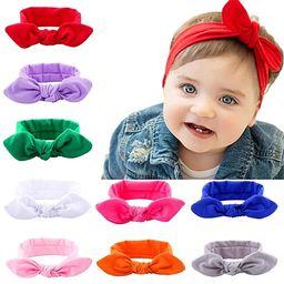 Itaar Baby Girl Turban Headband Rabbit Ear Head Wrap Dot Hair Band headwrap (Mix Color 9 Pack)   Amazon (US)